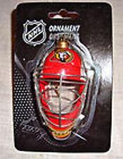 OTTAWA SENATORS NHL GOALIE MASK CHRISTMAS ORNAMENT BRAND NEW BNIP