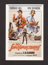 Terence Hill Bud Spencer Vintage 1984 Spanish Movie Film Collector Card B