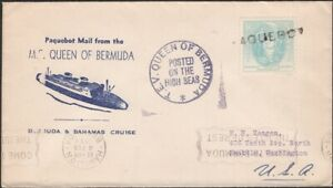 BERMUDA, 1939. Cover Paqubot - Quuen of Bermuda, Seayttle, Wa