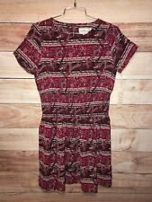 Isani For Target Women's Multi Color Dress Size S Above The Knee Paisley LBB76