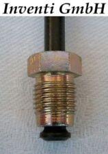 Bremsleitungen, Satz VW Caddy I (1) mit lastabhängigem BKR, Bremstrommel HA