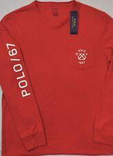 Polo Ralph Lauren TShirt Tee NY 1967 Logo Chest Pocket S & M NWT