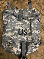 SUSTAINMENT POUCHES SET OF 2 MOLLE II ACU CAMO US ARMY GOOD