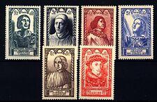 FRANCIA - 1946 - Celebrità del XV secolo