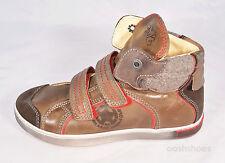 Primigi Boys Glab Brown Leather Hi Top Boots UK 13 EU 32 US 13.5 RRP £59.00