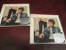 BOB DYLAN HIGHWAY 61 REVISITED JAPAN REPLICA RARE OBI CD PLAY 1 BACK UP 1 SET