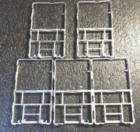 LOT OF 5PCS Metal Mid-frame for Apple iPod Classic 6th 7th Gen A1238 EXCELLENT