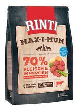 Rinti Max-i-Mum Rind 1 Kg Hundefutter Rinti Maximum Trockenfutter Hund