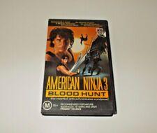 American Ninja 3 VHS Pal Blood Hunt