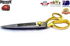 "9""Gold Plated Handle 60 Days Warranty Heavy Duty Tailor Scissor, Sewing Scissor"