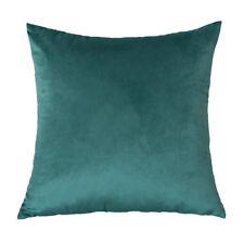 Velvet Cushions Covers Solid THROW PILLOW CASE Sofa Car Home Decor Multi Modern
