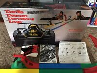 Darda Demon Daredevil Leap Track Play Set  With Extra Car 100% Complete Works