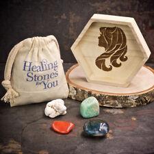 Healing Stones for You: Virgo Zodiac Crystals with Handmade Zodiac Dish
