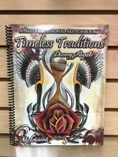Tattoo Sketchbook Timeless Traditions- Traditional Tattoos- Danny Fugate