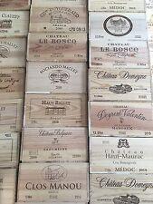 3x Weinkiste Holz 12er Kiste Deko Wein Shabby Chateau Regal Grand Cru OHK