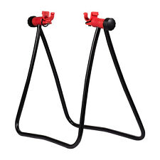 Bike HUB Folding Display Repair Stand T Floor Storage Rack Bicycle Portable New