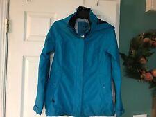 Women's TRIBORD  Kostalde Waterproof & Breathable Turquoise Jacket Size 2XS