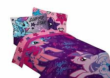 Sheet Set Twin My Little Pony Stars Blue Size Bed Bedding,kids&teens at home