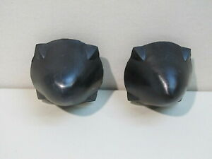 NEW 1959-1964 FORD GALAXIE, FAIRLANE, STARLINER, SUNLINER BUMPER GUARD TIPS