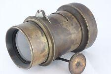 EURYSCOP Portrait 4A Voigtlander & Sohn Braunschweig Big Antique Brass Lens