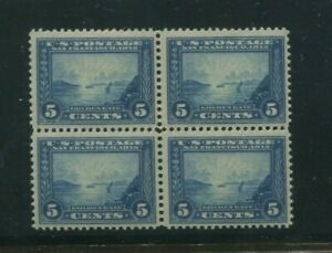 United States Postage Stamp #399 MNH VF Block of 4 PF Certified