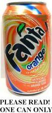 Fanta Orange (Old-Style) USA 2008 FULL NEW 12oz 355ml Can American Coca-Cola's