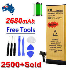 2680mAh OZ High Capacity Replacement Internal Battery For iPhone 4S + Free Tools