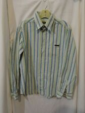 DOLCE & GABBANA Striped COTTON Casual BUTTON Front SHIRT Made in ITALY XL Flaw