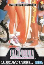 Framed SEGA Mega Drive Game Print – California Games (Arcade Classic Picture)