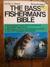 Bass Fisherman Bible by Erwin A. Bauer (1980, Paperback, Revised)
