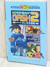 ROCKMAN DASH 2 Guide w/Poster Megaman Legends PS 2000 Book VJ14*
