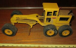 TONKA Road Grader vintage metal toy large truck