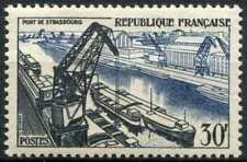 France 1956 SG#1305, 30f Port Of Strasbourg MH Cat £23 #E5903