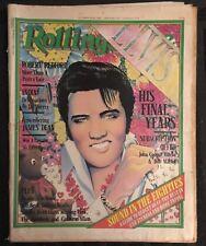 ELVIS PRESLEY Rolling Stone Australia Magazine RARE October 1980 Def Leppard