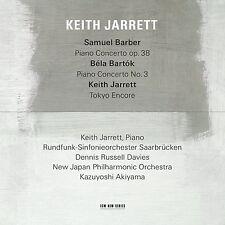 KEITH JARRETT/DAVIES/AKIYAMA/NEW JAPAN PO - SAMUEL BARBER/BELA BARTOK  CD NEU