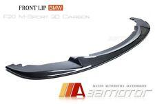 3D Carbon Front Lip Spoiler for BMW F20 F21 1-Series M135 125I M Sport Bumper