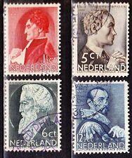 1935 zomerzegels complete serie NVPH 274 / 277 gestempeld