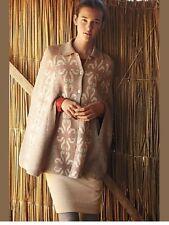 Euc AnthropologiE Flowering Pompona Cape Sweater Coat Cardigan Madchen S
