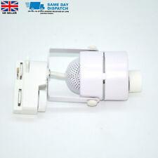 Gu10 Lamp Holder 2 Wire LED Track Light Downlight Lighting White Case UK seller