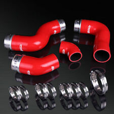 03-09 04 Golf MK5 PQ35 2.0T FSI Red Turbo Intercooler Inlet Pipe Silicone Hose