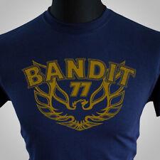 Smokey and the Bandit T Shirt 77 Movie Themed Retro Burt Trans Am 70's Blue