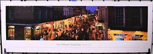 New Orleans, French Quarter Bourbon Street - Unframed, Blakeway Panorama Print