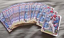 Lot of 36 J.P. Crawford  2015 Bowman Cards Philadelphia Phillies