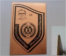 """DDR Auszeichnung Plakette FDJ Junge Pioniere im Stasi Staatssicherheit """"Schild"""""""