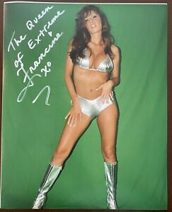 """""""The Queen of Extreme"""" Francine AUTO 8x10 w/ Proof ECW WWE"""