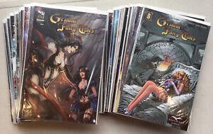 Zenescope's Grimm Fairy Tales Lot of 61 VF/NM 9.0 #s 5- 112 Huge Set