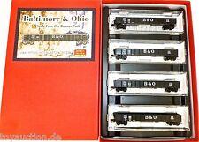 Baltimore and Ohio 4er Set Micro Trains Line 993 00 028 N 1:160 OVP HA2  å