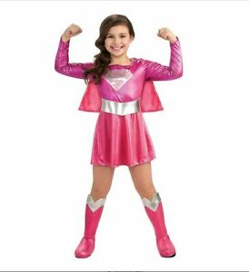 Supergirl Costume Girl Size Toddler (2-4) Theater Halloween Complete Dress Up