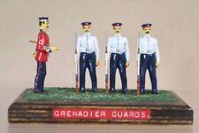 BRITAINS RE CAST GRENADIER GUARDS & COLOUR SERGEANT at PRESENT ARMS nu