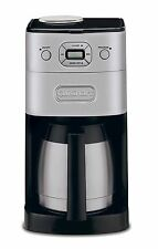 NEW Cuisinart Grind & Brew Thermal DGB-650BC 10 Cups Coffee Maker - Black/Silver